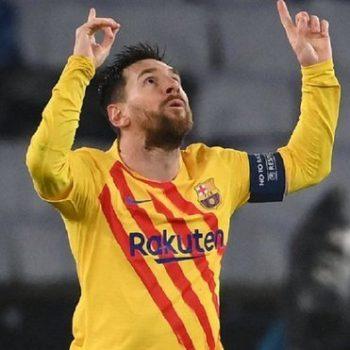 Messi erzielte ein Meistertor gegen PSG
