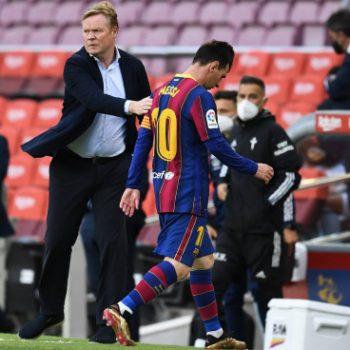 Reaktionen auf den Weggang von Messi aus Barcelona
